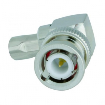 BNC-Winkelstecker Crimp / Aircell 5